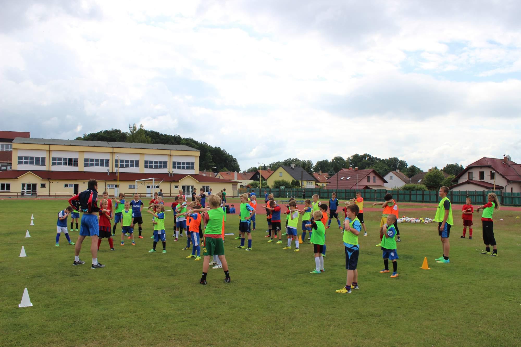 Fotbalové prázdniny Fotbalový kemp Fotbalové Prázdniny 2014 Rocvička