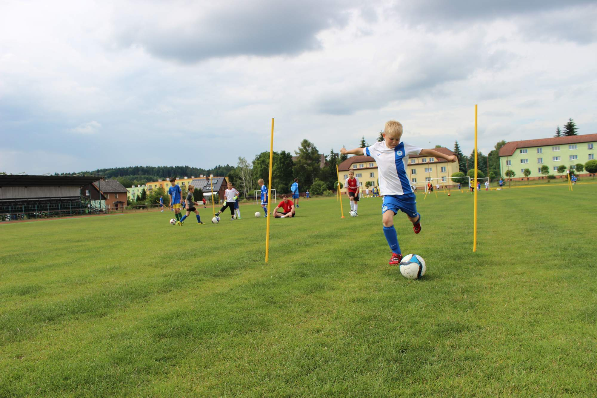 Fotbalové prázdniny Fotbalový kemp Fotbalové Prázdniny 2014 Střelbička