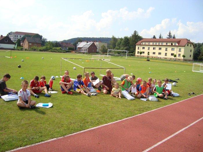 Fotbalové prázdniny Fotbalový kemp Fotbalové Prázdniny 2009