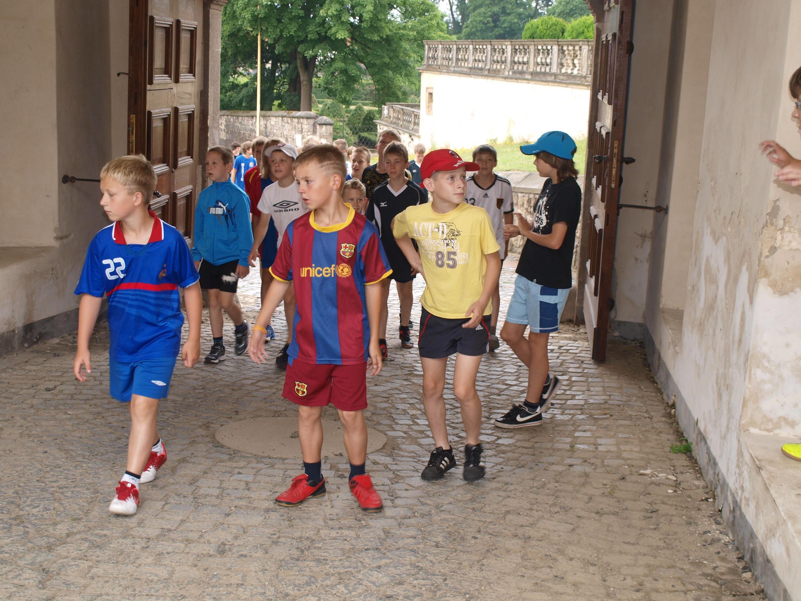 Fotbalové prázdniny Fotbalový kemp Fotbalové Prázdniny 2012