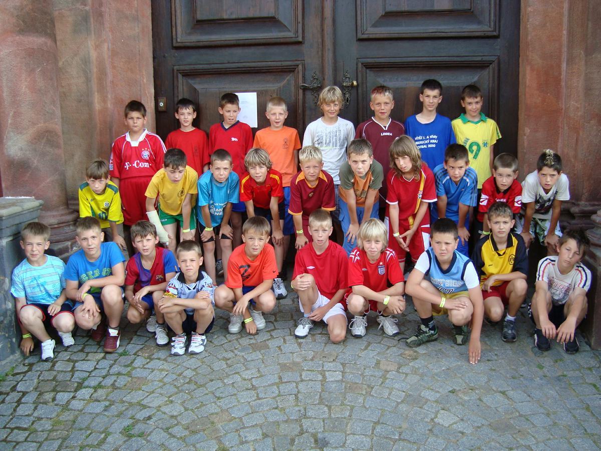 Fotbalové prázdniny Fotbalový kemp Fotbalové Prázdniny 2010