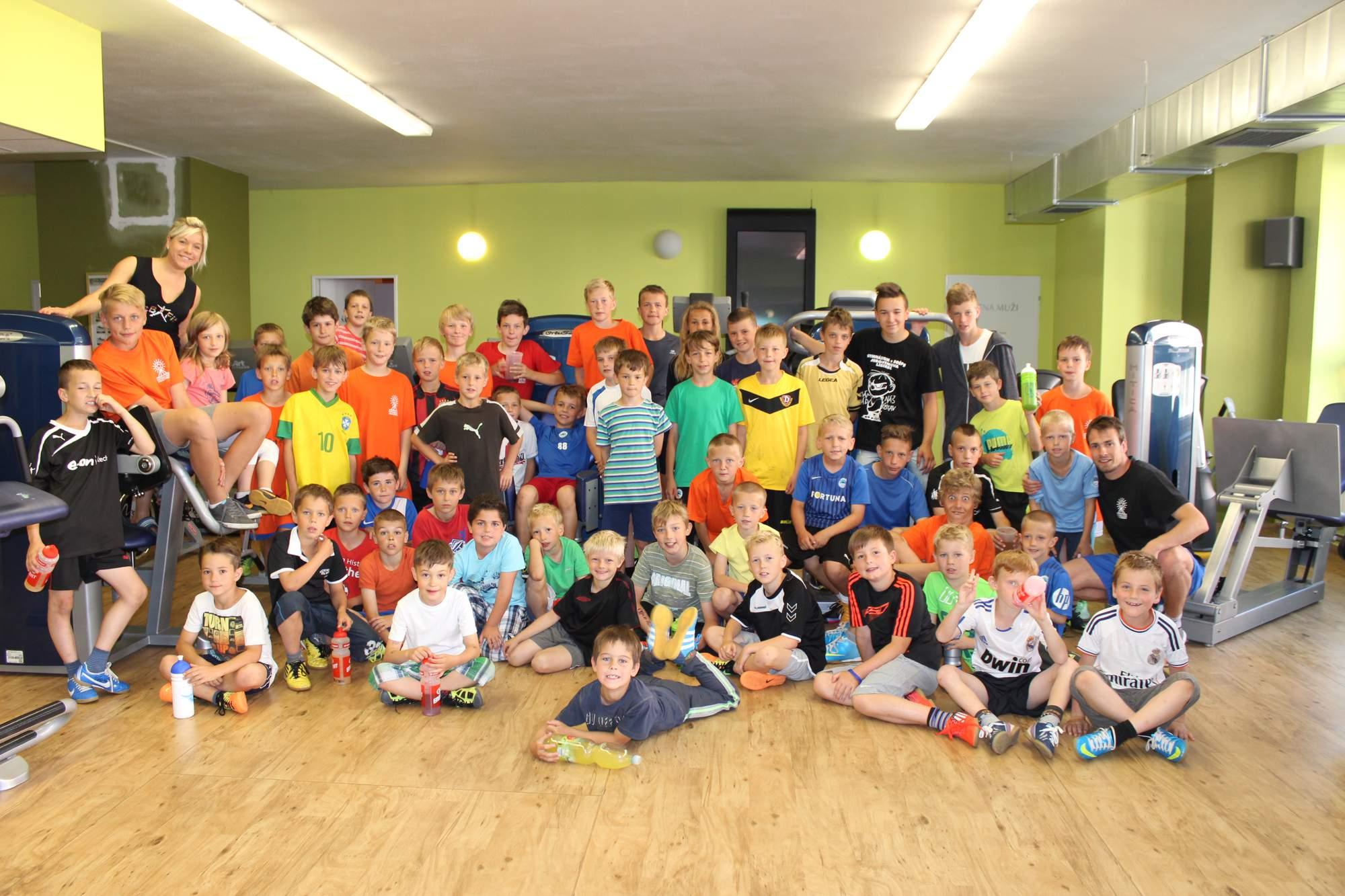 Fotbalové prázdniny Fotbalový kemp Fotbalové Prázdniny 2014 Společná s Aničkou