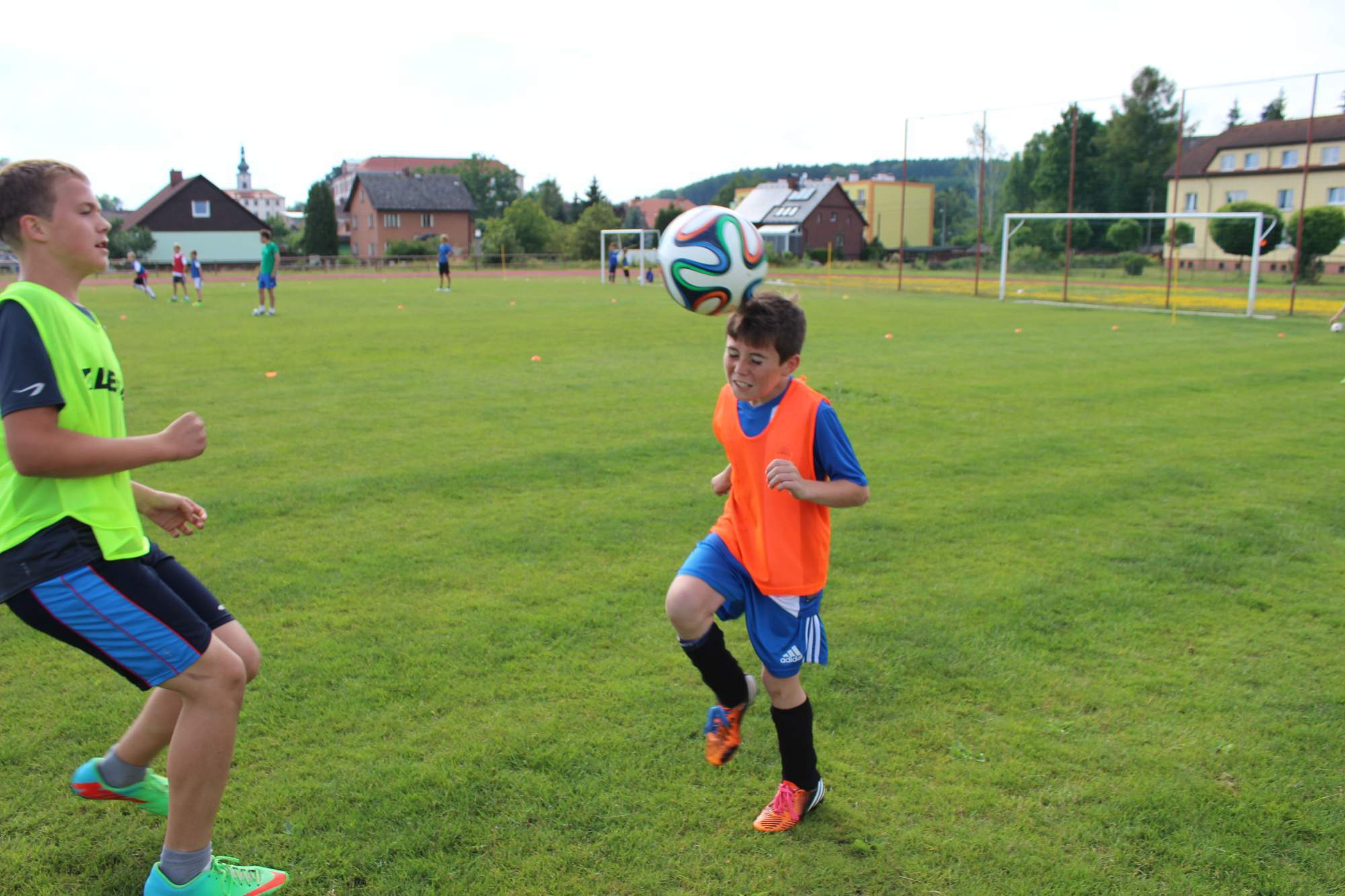 Fotbalové prázdniny Fotbalový kemp Fotbalové Prázdniny 2014 Jdem do toho naplno!