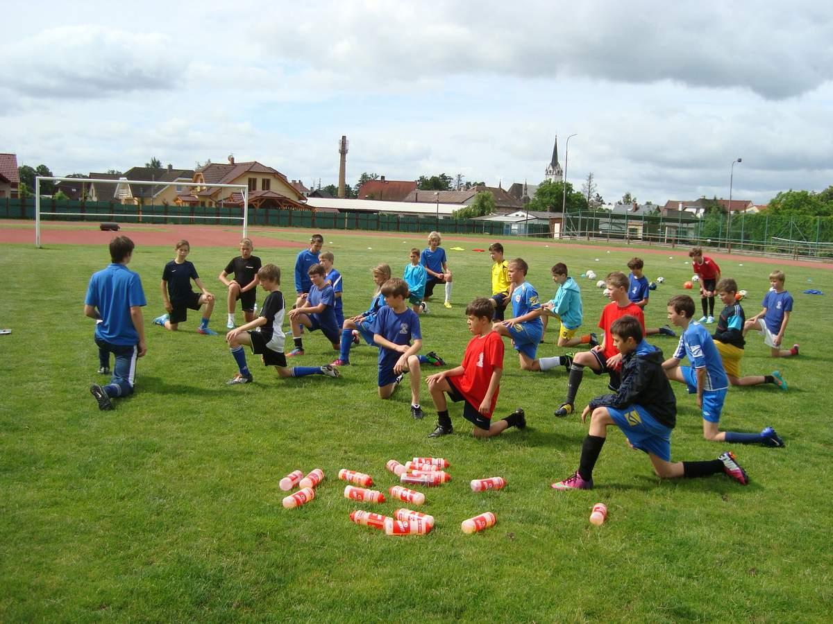 Fotbalové prázdniny Fotbalový kemp Fotbalové Prázdniny 2013